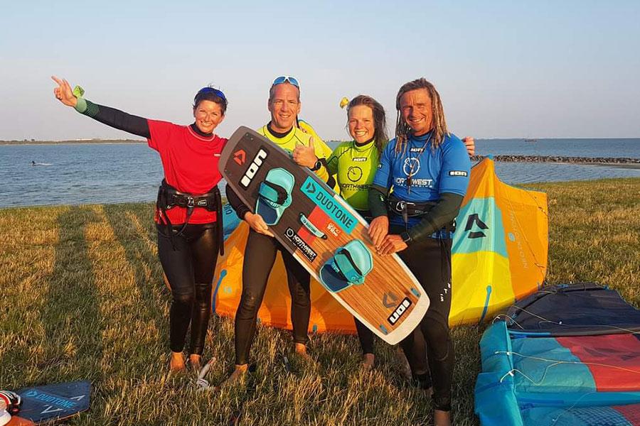 NorthWest Kiteboarding team