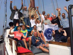 Sail Adventures group of participants