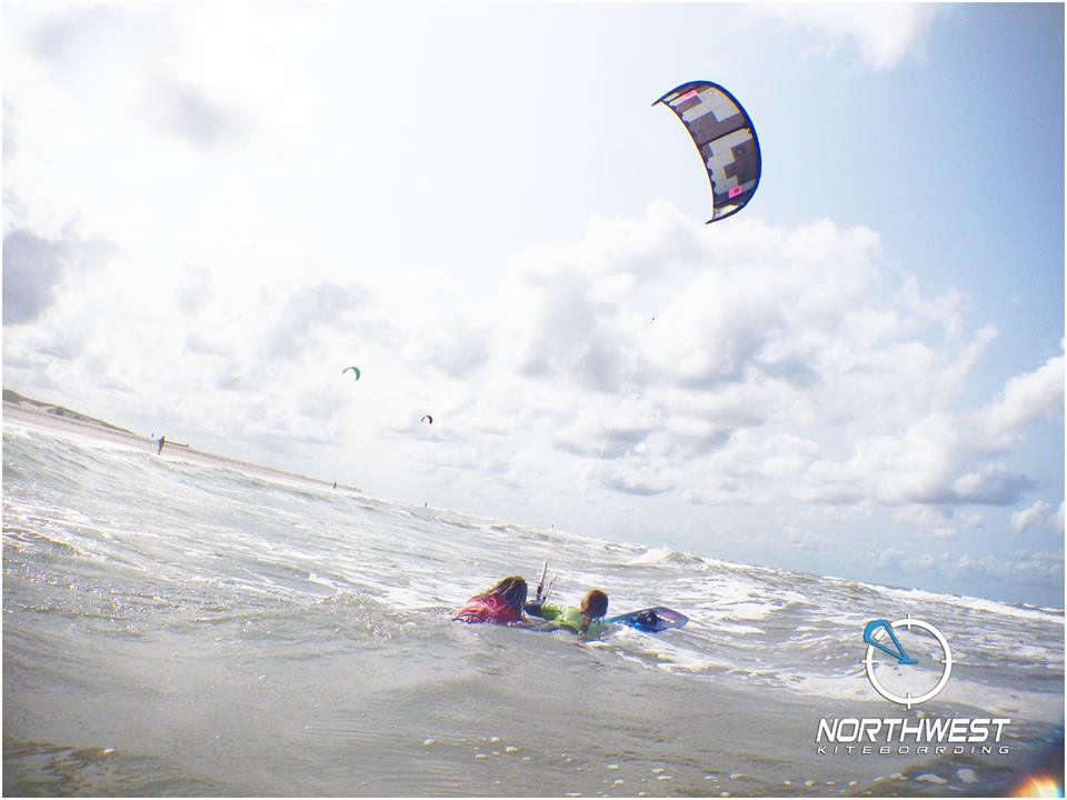 Kiteboarding Beach Makkum